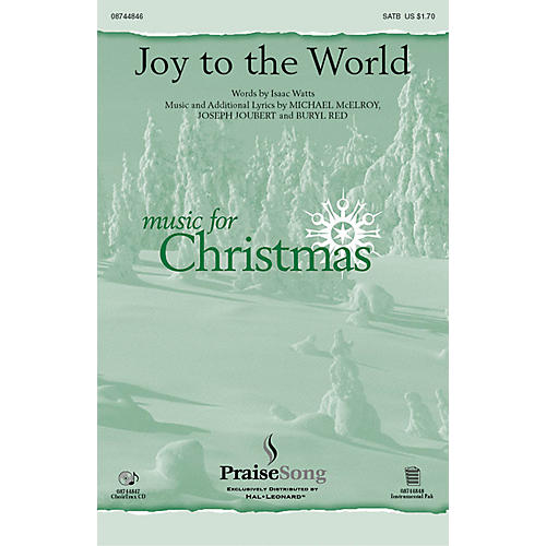 PraiseSong Joy to the World IPAKO Composed by Buryl Red