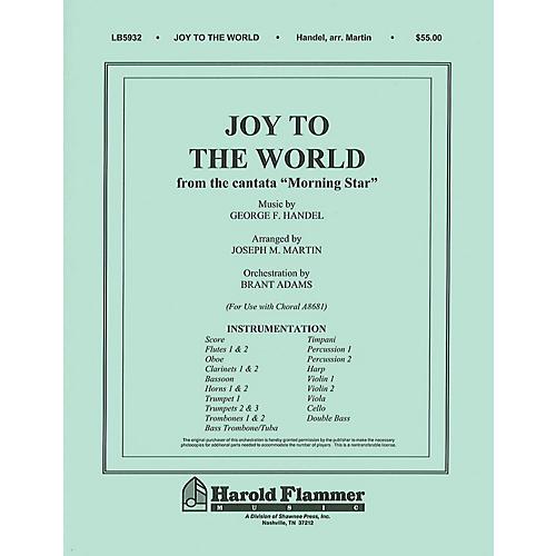 Shawnee Press Joy to the World (from Morning Star) Score & Parts arranged by Joseph M. Martin