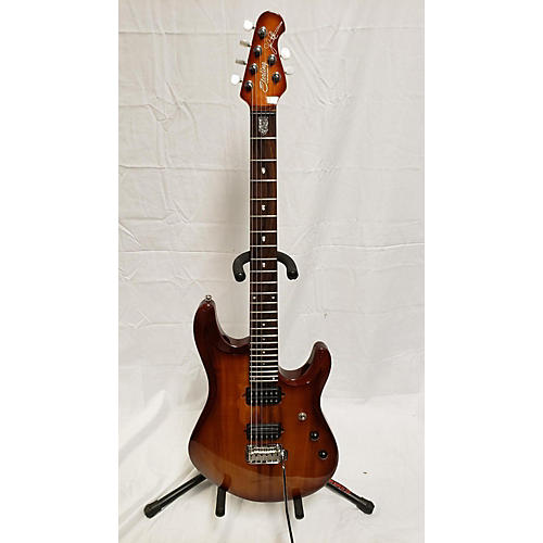 Sterling by Music Man Jp100P KOA Solid Body Electric Guitar