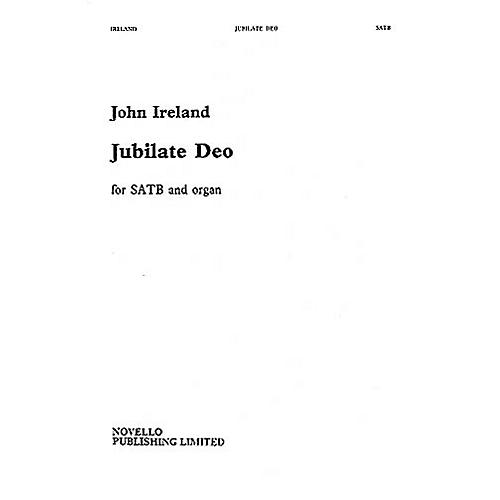 Novello Jubilate Deo in F SATB Composed by John Ireland