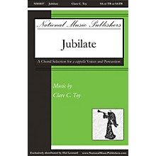 National Music Publishers Jubilate SA OR TB ACAPPELLA composed by Clare Toy