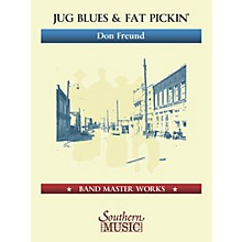 Lauren Keiser Music Publishing Jug Blues and Fat Pickin' (Oversize Score) Concert Band Level 5 Composed by Don Freund