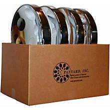 Panyard Jumbie Jam Educator's Steel Drum 4-Pack with Table Top Stands Level 1 Chrome