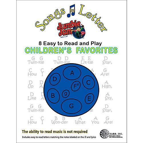 Panyard Jumbie Jam Songs by Letter Song Book - Childrens