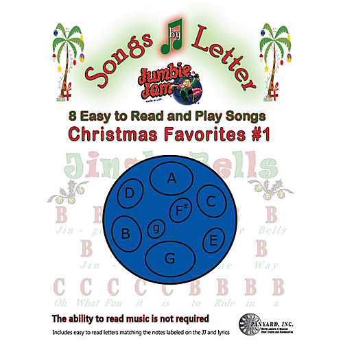 Panyard Jumbie Jam Songs by Letter Song Book - Christmas