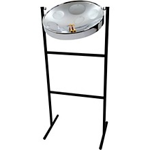 Jumbie Jam Steel Drum Kit with Tube Floor Stand Chrome