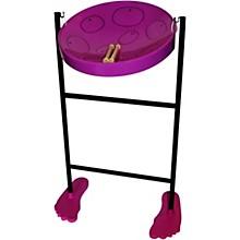 Jumbie Jam Steel Drum Kit with Tube Floor Stand Purple