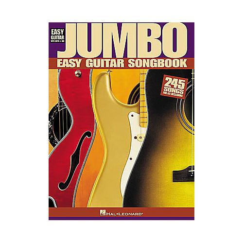 Hal Leonard Jumbo Easy Guitar Tab Book