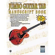 Alfred Jumbo Guitar Tab Manuscript Book