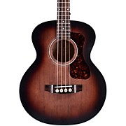 Jumbo Junior Acoustic-Electric Bass Guitar Charcoal Burst