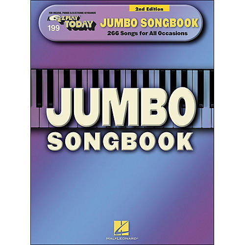 Hal Leonard Jumbo Songbook, 2nd Edition E-Z Play 199