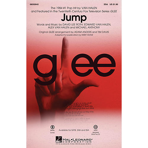 Hal Leonard Jump (from Glee) SSA by Van Halen arranged by Adam Anders