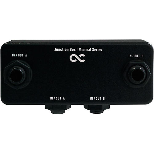 one control junction box guitar center. Black Bedroom Furniture Sets. Home Design Ideas