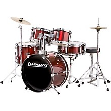 Ludwig Junior Outfit Drum Set Level 1 Wine Red