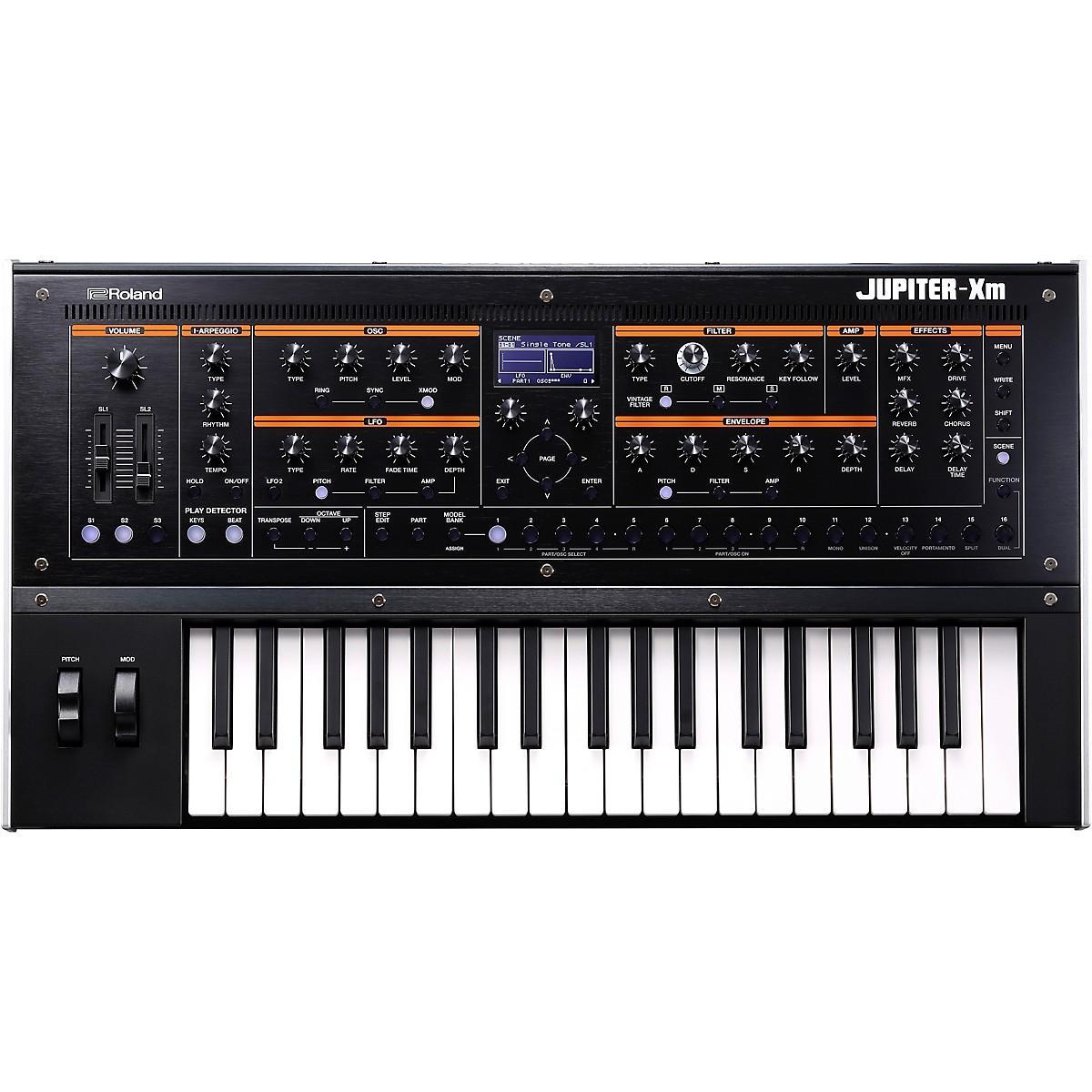 Roland JUPITER-Xm Keyboard Synthesizer