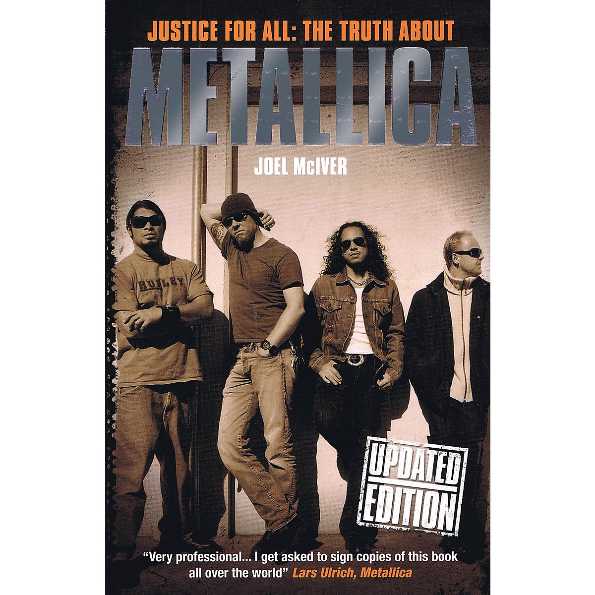 Omnibus Justice for All: The Truth About Metallica (Updated Edition) Omnibus Press Series Softcover