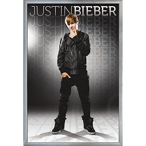 Trends International Justin Bieber - Gray Poster