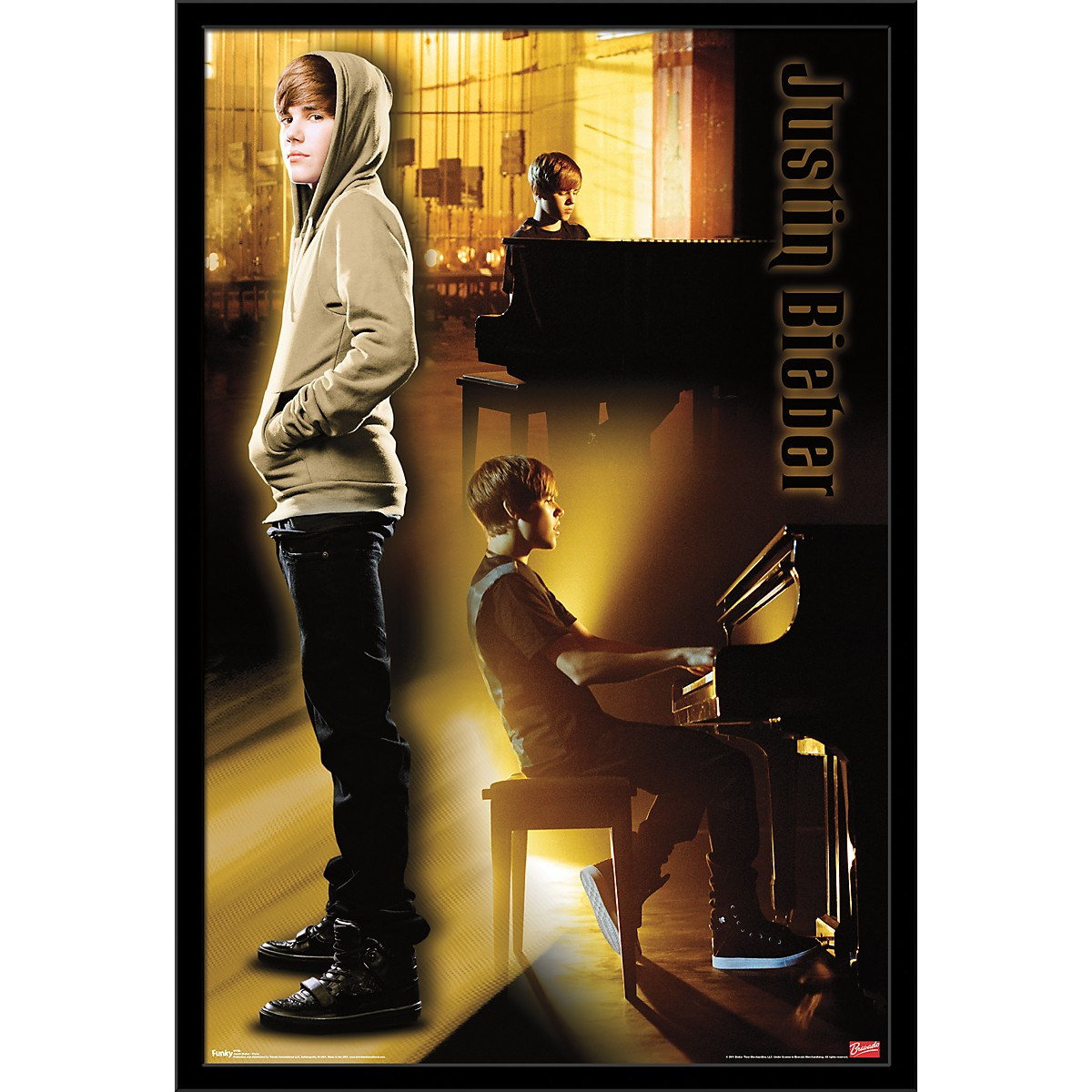 Trends International Justin Bieber - Piano Poster