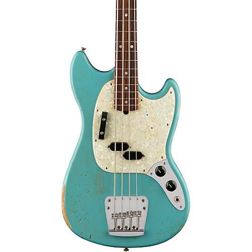 Fender Justin Meldal Johnsen Road Worn Mustang Electric Bass