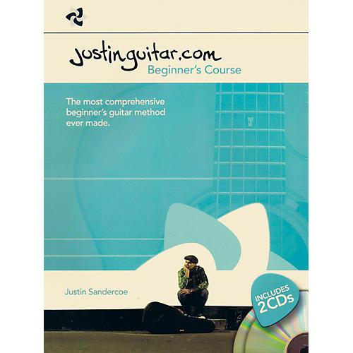 Music Sales Justinguitar.com - Beginner's Course Book/2-CD Pack