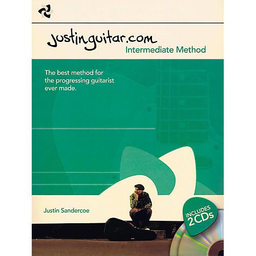 Music Sales Justinguitar.com - Intermediate Method Book/2-CD Pack