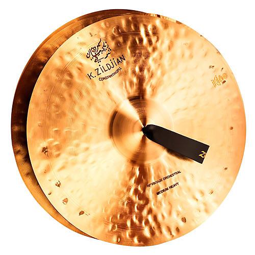 Zildjian K Constantinople Vintage Orchestral Medium Heavy Crash Cymbal Pair