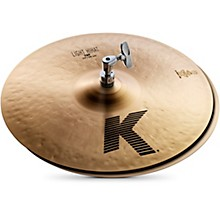 K Light Hi-Hat Pair Cymbal 14 in.