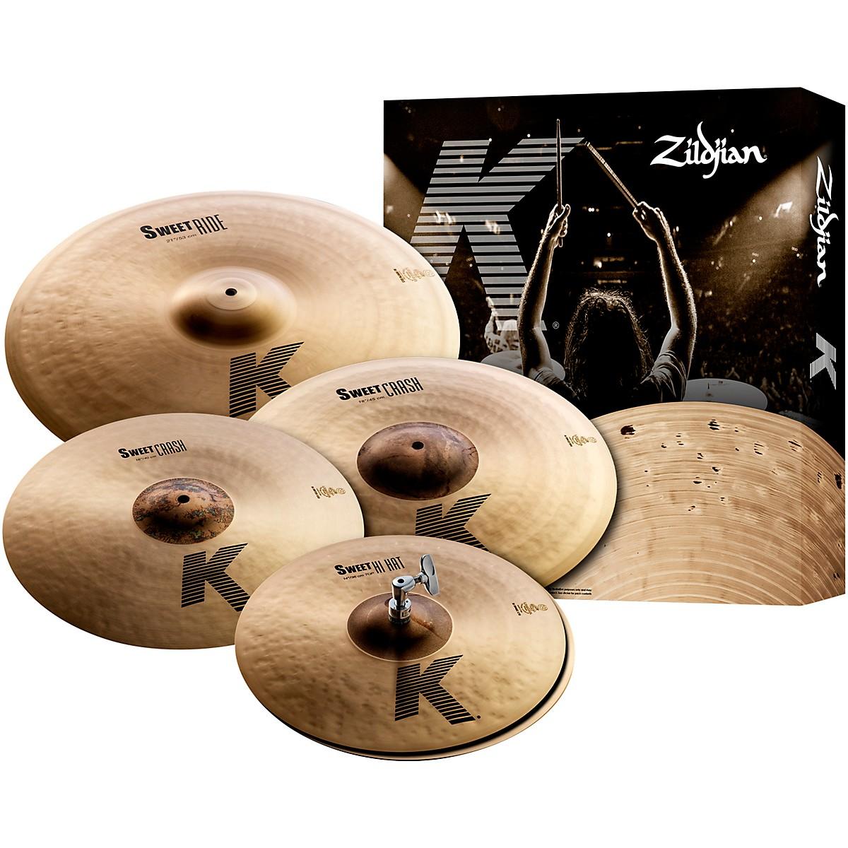 Zildjian K Sweet Cymbal Pack, 14