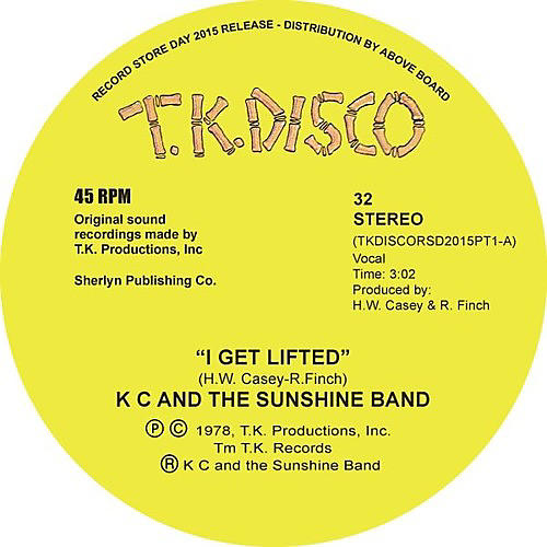 Alliance K.C. & Sunshine Band - I Get Lifted (Todd Terje Edit)