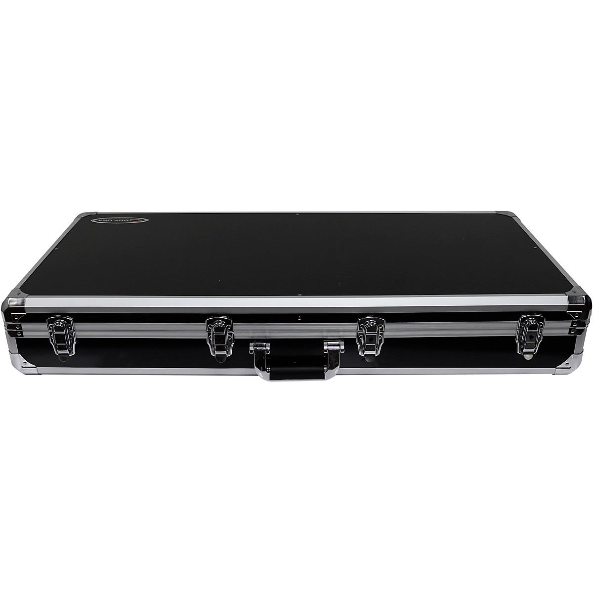 Odyssey K10PT01BLK Black DJ Coffin for Two Numark PT01 Scratch Turntables and A Compact 10