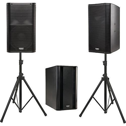 QSC K12 Powered Speaker Package