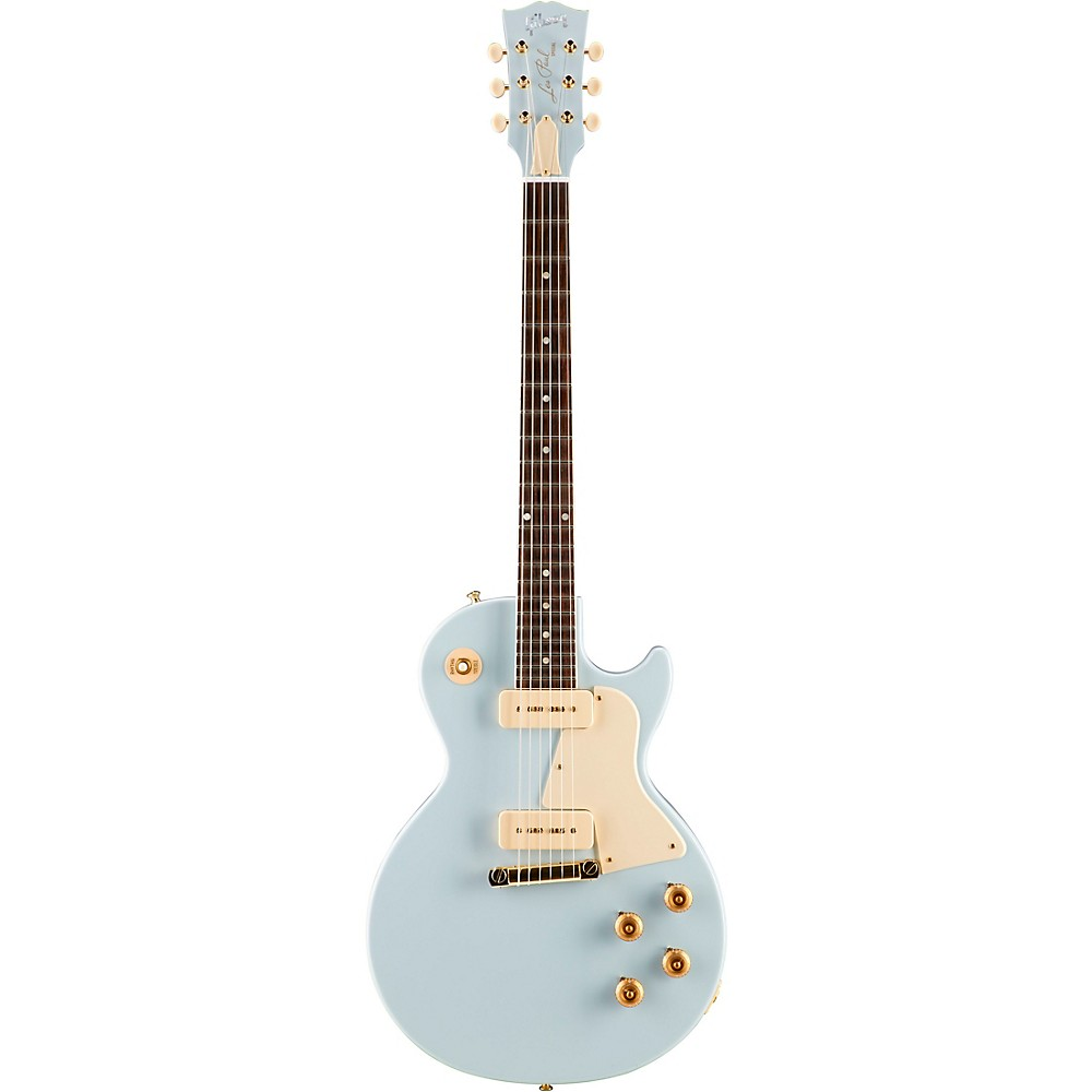 Gibson Custom 2017 Limited Edition Les Paul Special Single Cut Electric Guitar Frost Blue White Pickguard 1500000114242