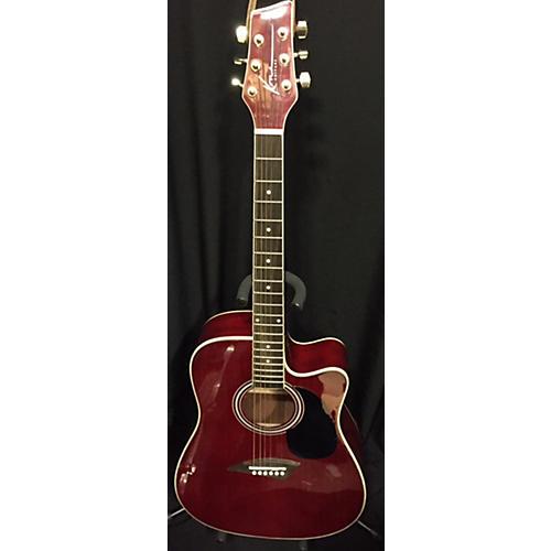Kona K1ETRD Acoustic Electric Guitar