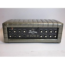Kustom K200B Silver Solid State Guitar Amp Head
