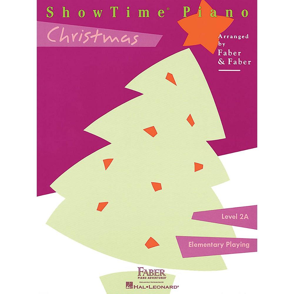 Faber Piano Adventures ShowTime Christmas (Level 2A) Faber Piano Adventures Series CD 1500000122508