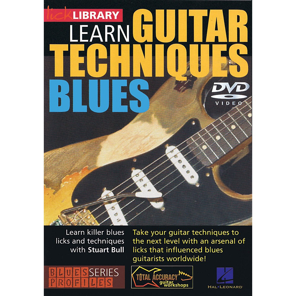 Licklibrary Learn Guitar Techniques: Blues (Stevie Ray Vaughan Style) Lick Library Series DVD Written by Stuart Bull 1500000133403