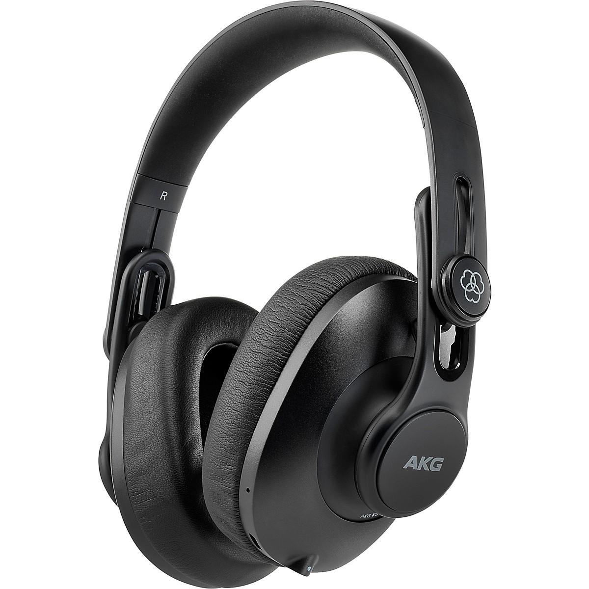 AKG K361-BT Over-Ear, Closed-Back Foldable Studio Headphones with Bluetooth