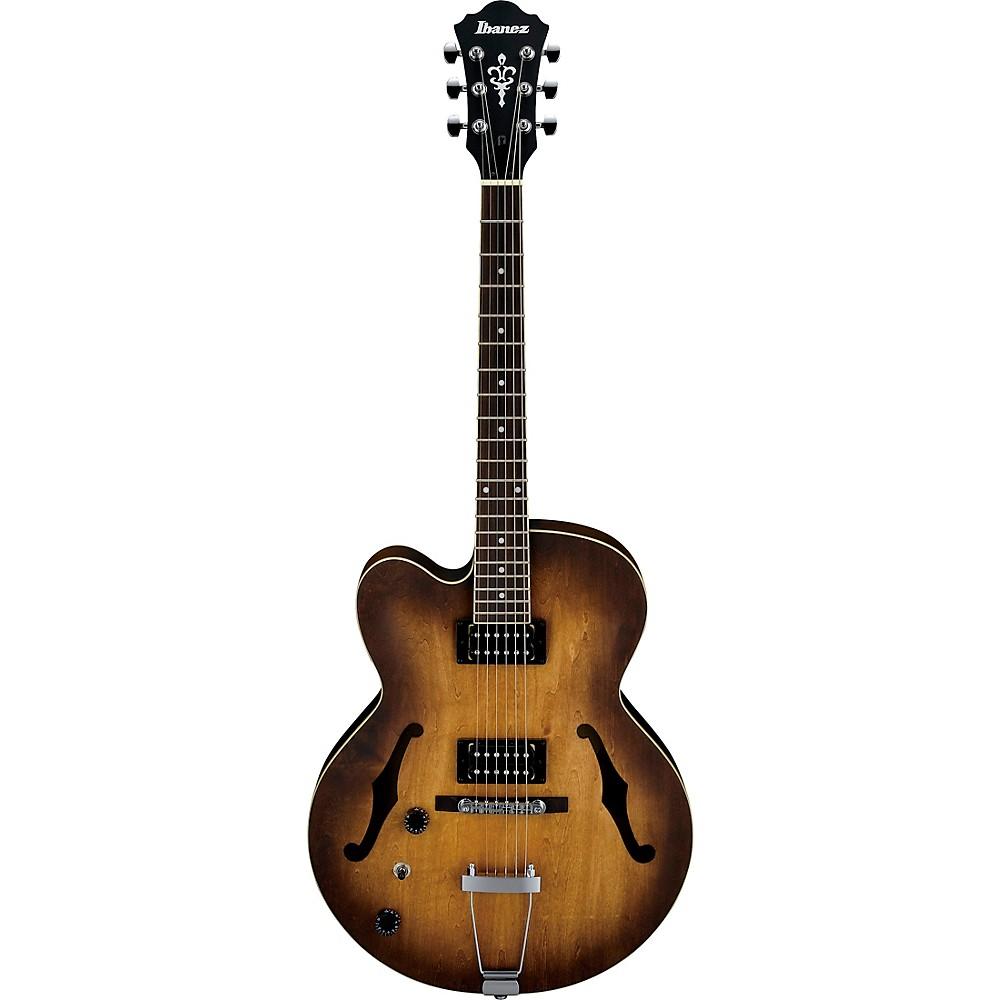 Ibanez AF55L Artcore Series Left-Handed Hollowbody Electric Guitar Flat Tobacco 1500000137699