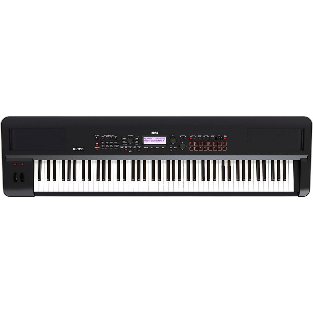 Korg Kross 2 88-Key Synthesizer Workstation Black