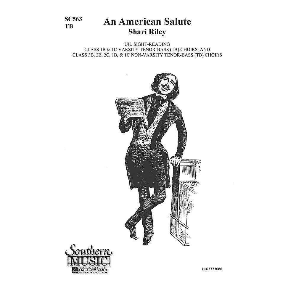 Hal Leonard An American Salute (Choral Music/Octavo Secular 2-Par) Tb Composed By Riley, Shari -  3773086