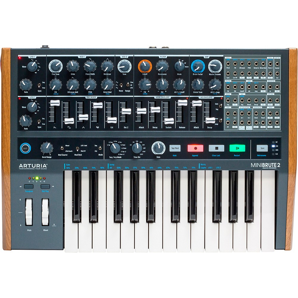 Arturia Minibrute 2 Analog Synthesizer