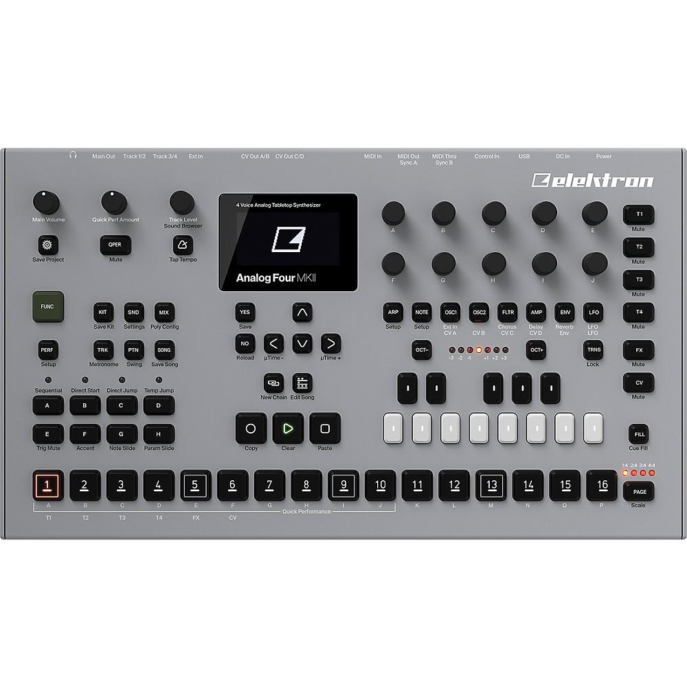 Elektron Analog Four Mkii Tabletop Synthesizer
