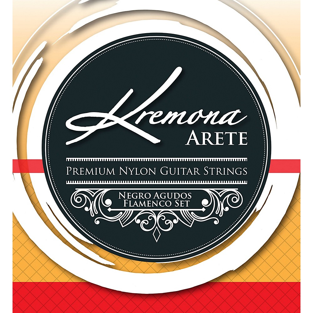 Kremona Arete Premium Nylon Guitar Strings Negro Agudo Flamenco Set 1500000152772