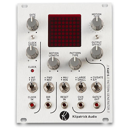 Open Box Kilpatrick Audio K4815 Pattern Generator Eurorack Cv And