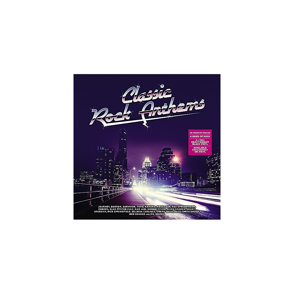Alliance Various Artists Classic Rock Anthems / Various 1500000157398