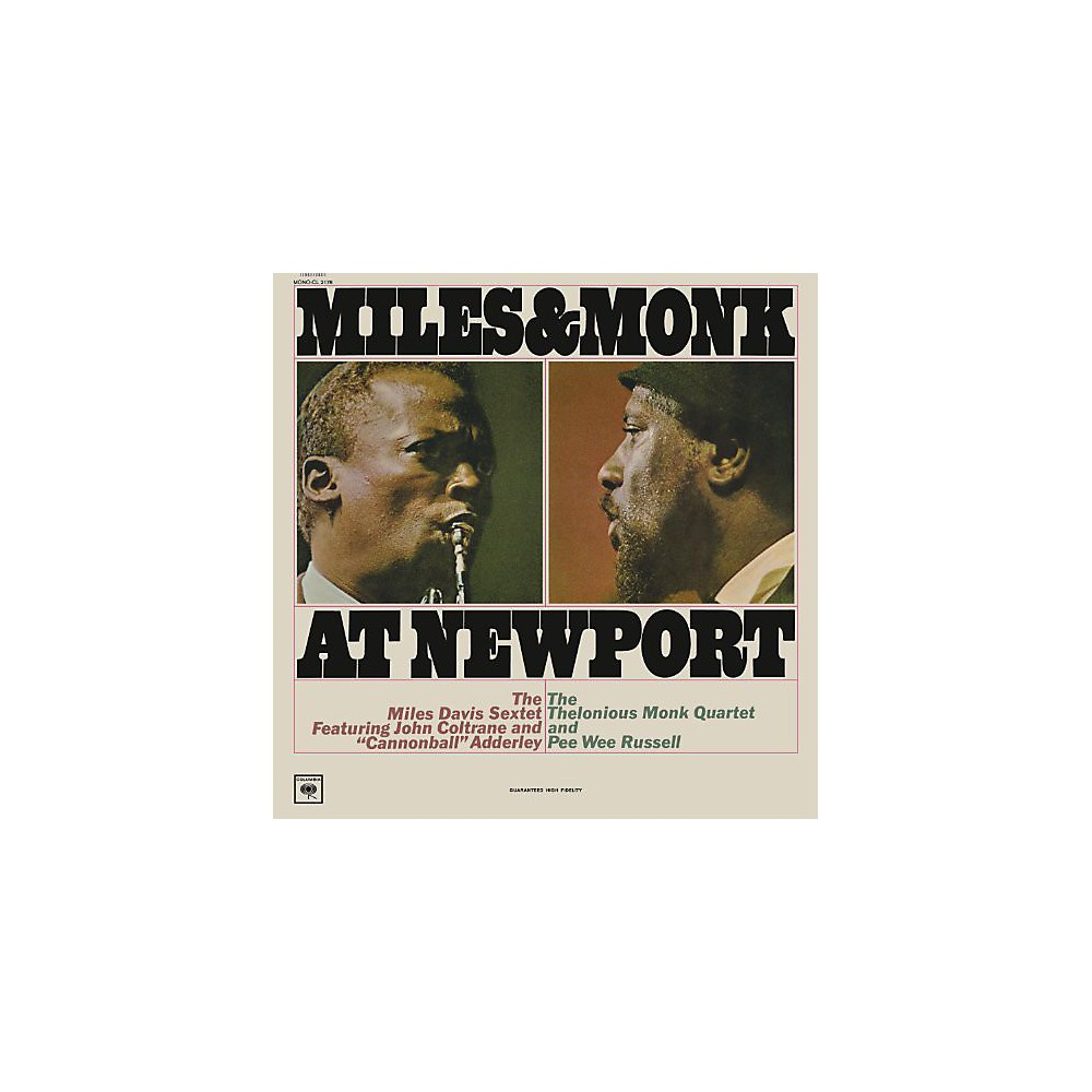 Alliance Miles Davis - Miles & Monk At Newport [Mono Vinyl] 1500000159222