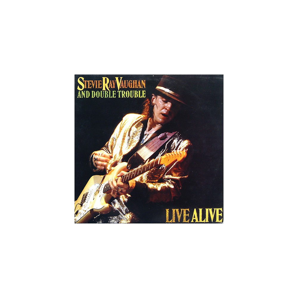 Alliance Stevie Ray Vaughan Live Alive 1500000162029