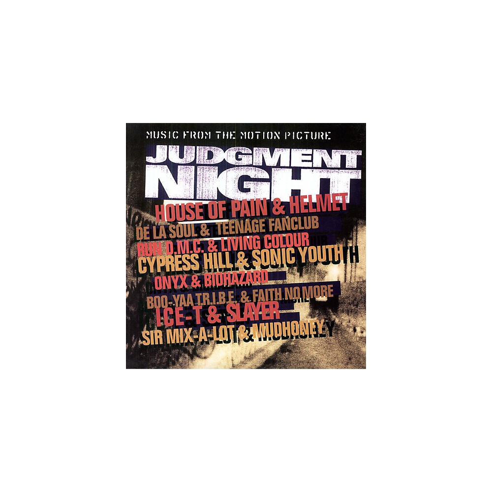 Alliance Various Artists Judgment Night (Original Soundtrack) 1500000163224