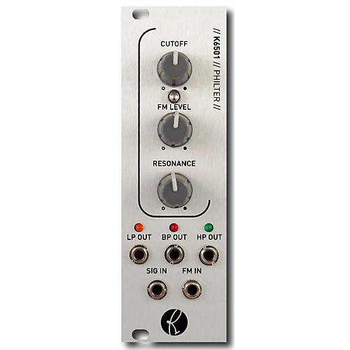 Kilpatrick Audio K6501 PHILTER Eurorack Multi-Mode Filter