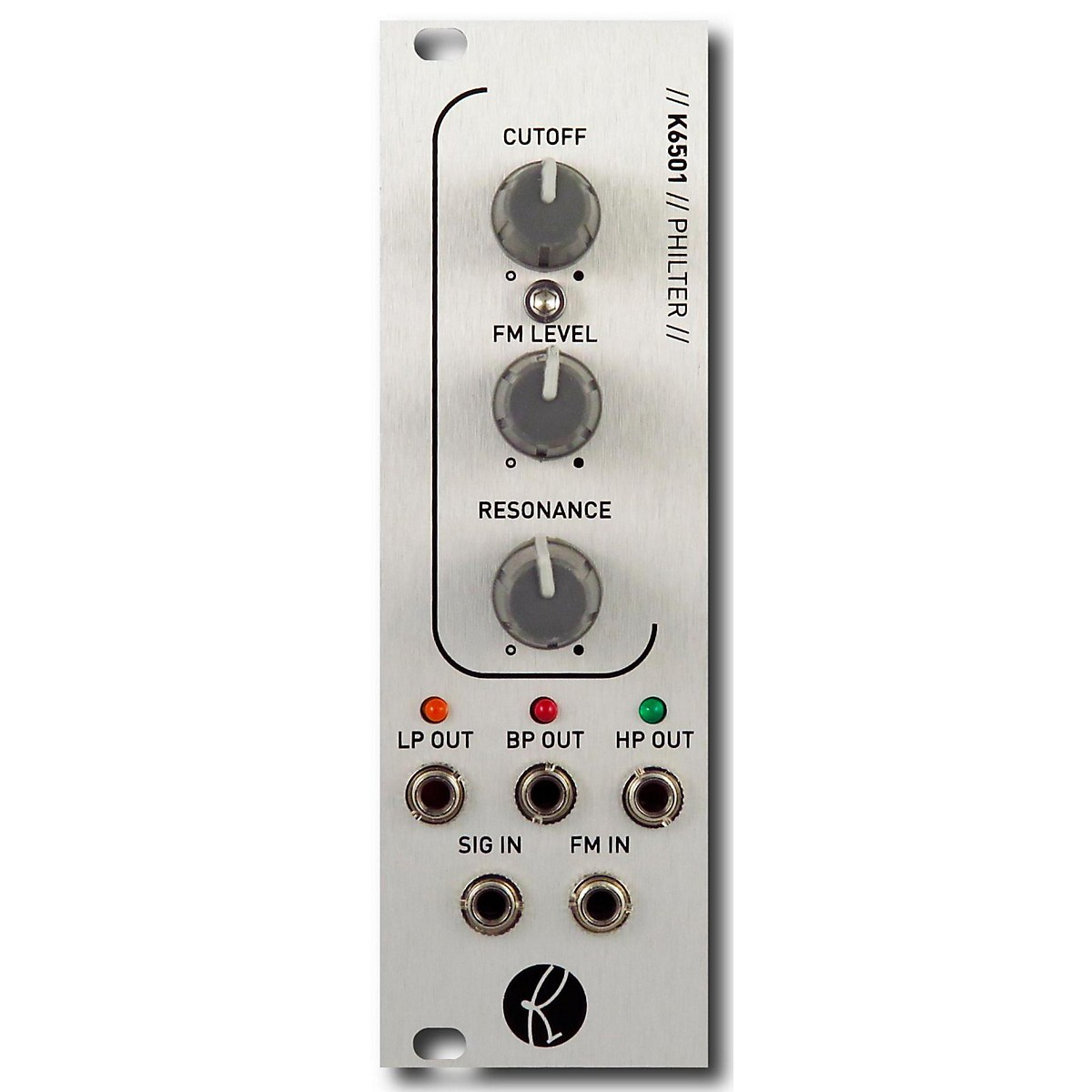 Kilpatrick Audio K6501 PHILTER Eurorack Multi-Mode Filter